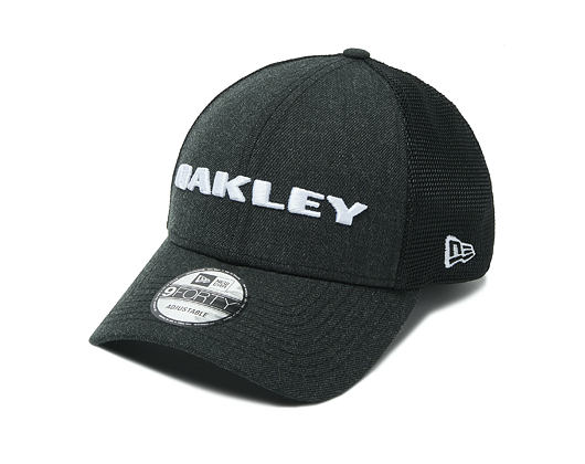 Kšiltovka Oakley Heather New Era Hat Blackout