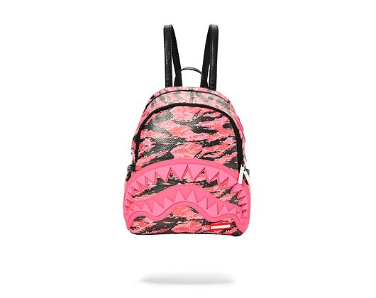 Mini Batoh Sprayground Pink Tiger Camo Sharkmouth