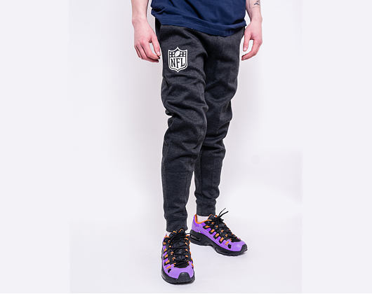 Tepláky New Era NFL Shield Logo Jogger Dark Grey Heather