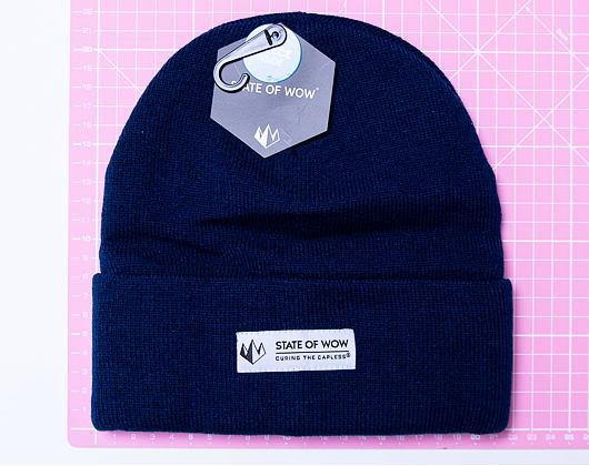 Kulich State of WOW Adler Fold Beanie Navy