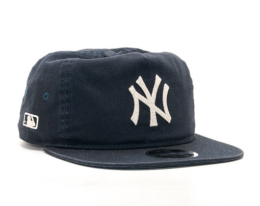 Kšiltovka New Era Chain Stitch New York Yankees 9FIFTY Navy Snapback