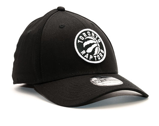Kšiltovka New Era Monochrome Toronto Raptors 39THIRTY Black