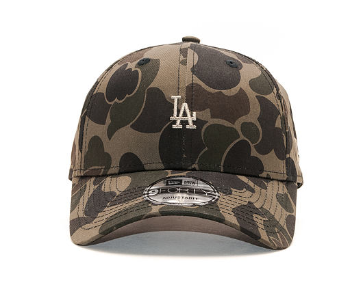 Kšiltovka New Era 9FORTY Los Angeles Dodgers Marine Navy Camo/Olive Strapback
