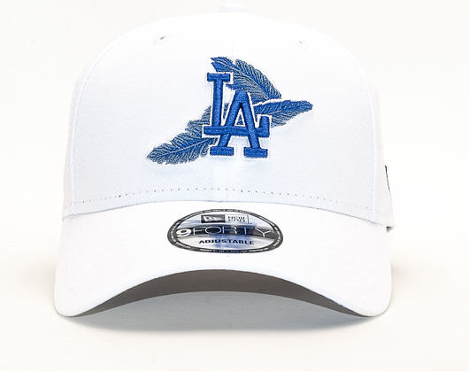 Kšiltovka New Era 9FORTY Los Angeles Dodgers Light Weight White