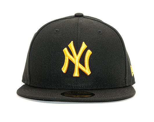 Kšiltovka New Era 59FIFTY The League Essential New York Yankees Black / Gold Fitted
