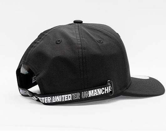 Kšiltovka New Era 9FIFTY Stretch Snap Wordmark Closure Manchester United Black