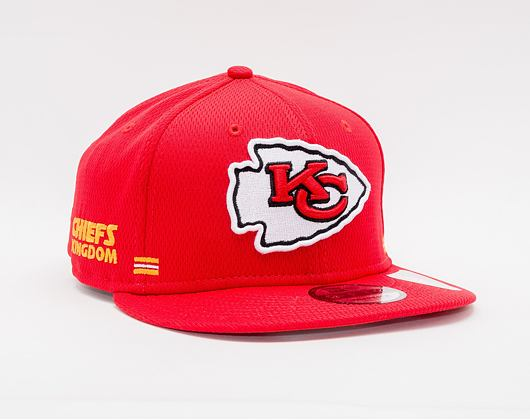 Kšiltovka New Era 9FIFTY NFL20 Sideline Home Kansas City Chiefs Snapback Team Color