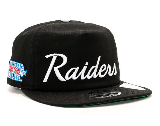 Kšiltovka New Era Throwback Oakland Raiders 9FIFTY Official Team Colors Snapback