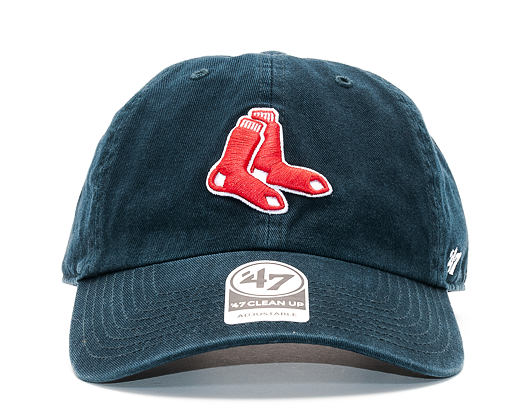 Kšiltovka 47 Brand Boston Red Sox Clean Up Navy Strapback