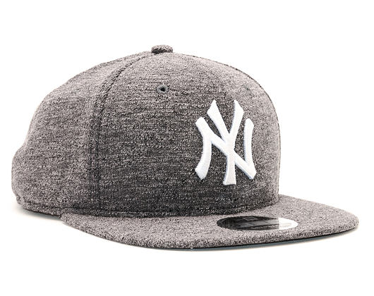 Kšiltovka New Era Slub New York Yankees 9FIFTY Gray/White Snapback