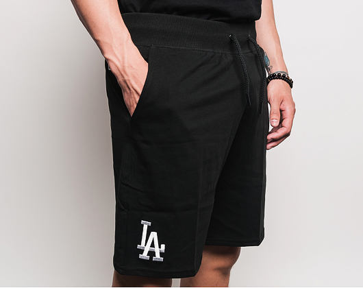 Kraťasy New Era Team Apparel Ft Short Los Angeles Dodgers Black