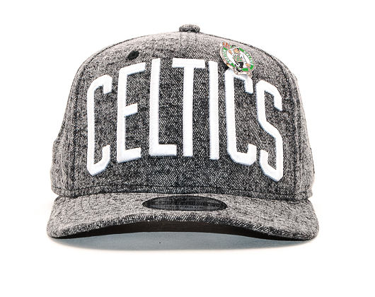 Kšiltovka New Era 9FIFTY Denim Boston Celtics Black / Team Color Snapback