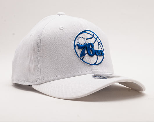 Kšiltovka New Era 9FIFTY White Base Stretch Snap Philadelphia 76ers White / Team Color Snapback