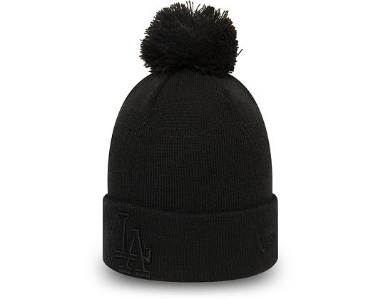 Dámský Kulich New Era Los Angeles Dodgers League Essential Bobble Knit Black