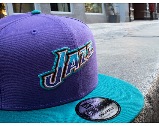 Kšiltovka New Era 9FIFTY Utah Jazz Hardwood OTC