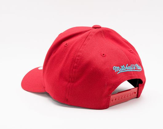 Kšiltovka Mitchell & Ness Red/Teal Snapback Chicago Bulls