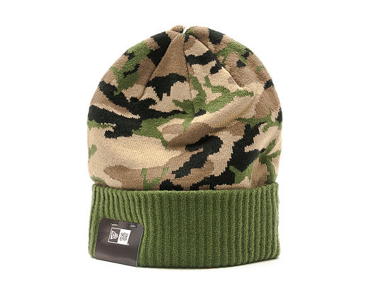 Kulich New Era Camo Ribbed Cuff Woodland Camo