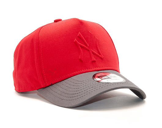 Kšiltovka New Era Gel In Fill New York Yankees Scarlet 9FORTY A-FRAME Snapback