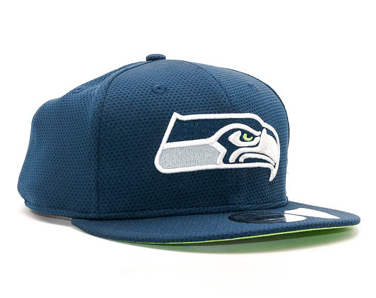 Kšiltovka New Era Training Mesh Seattle Seahawks 9FIFTY Navy Snapback