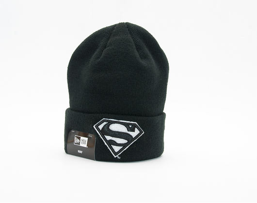 Dětský Kulich New Era GITD Character Cuff Superman Youth Black