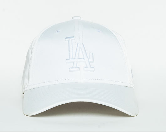 Dámská Kšiltovka New Era Satin Los Angeles Dodgers 9FORTY White Strapback
