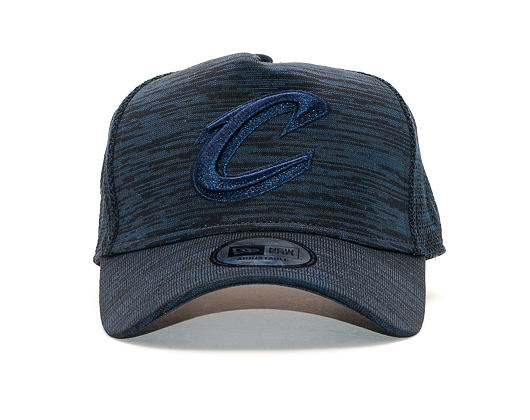 Kšiltovka New Era 9FORTY A-Frame Cleveland Cavaliers Engineered Fit Navy/Black Snapback