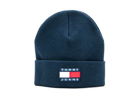 Kulich Tommy Jeans TJM HERITAGE FLAG BEANIE CBK