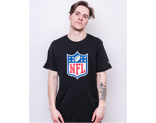 Triko New Era NFL Logo Tee Black