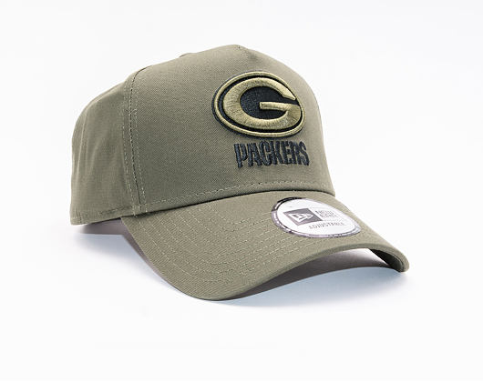 Kšiltovka New Era 9FORTY A-Frame Green Bay Packers Closed Back
