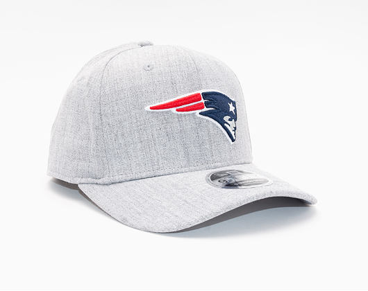 Kšiltovka New Era 9FIFTY New England Patriots Stretch Snap Heather Base