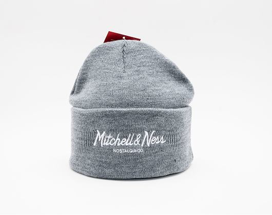 Kulich Mitchell & Ness Pinscript Cuff Knit Grey heather