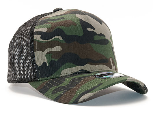 Kšiltovka State of WOW Reed Baseball Trucker Camo/Black Snapback