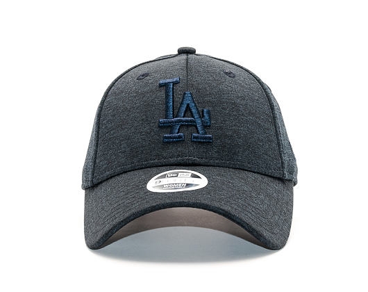 Dámská Kšiltovka New Era Jersey Heather Los Angeles Dodgers 9FORTY Navy Strapback