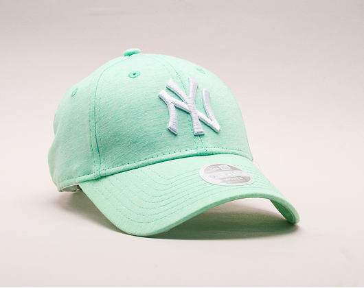 Dámská Kšiltovka New Era Jersey New York Yankees 9FORTY Green/White Strapback