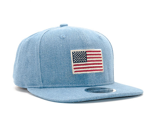 Kšiltovka New Era Seas Flag Original Fit 9FIFTY Open Market Blue Snapback