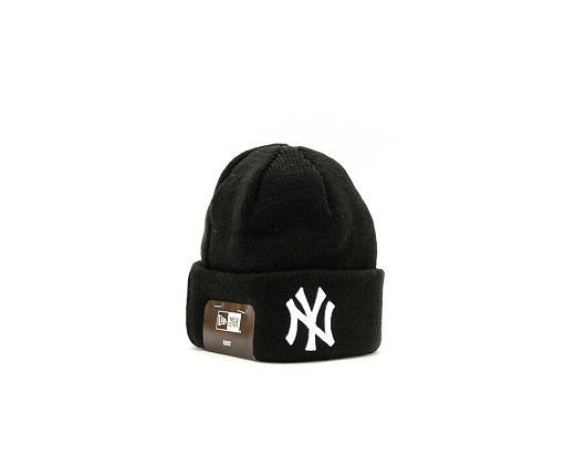 Dětský Kulich New Era League Essential Cuff New York Yankees Infant Black/White