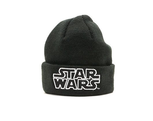 Dětský Kulich New Era Star Wars GITD Cuff Toddler Black