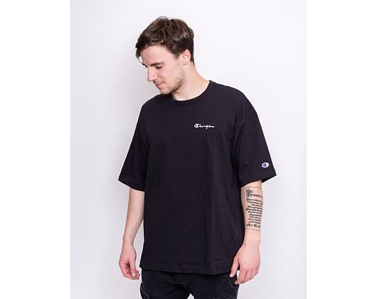 Triko Champion Crewneck T-Shirt Black 214282 KK001