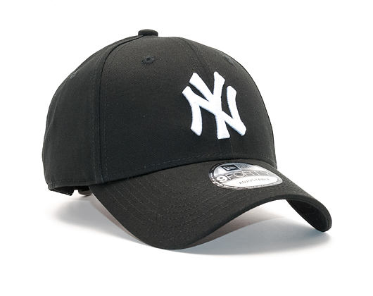 Kšiltovka New Era League Basic New York Yankees 9Forty Black/White Strapback