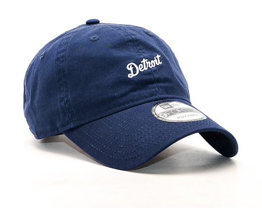 Kšiltovka New Era Sunbleach Unstructured Detroit Tigers 9FORTY Navy Strapback
