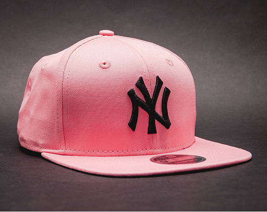 Kšiltovka New Era True Originators New York Yankees 9FIFTY Bright Rose/Black Strapback