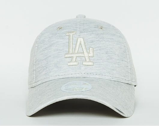 Dámská Kšiltovka New Era Essential Jersey Los Angeles Dodgers 9FORTY Satin/White Strapback