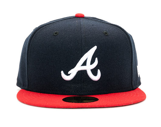 Kšiltovka New Era Authentic Perfomance Atlanta Braves 59FIFTY Team Color
