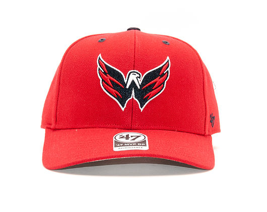 Kšiltovka 47 Brand Washington Capitals Audible MVP DP Red Strapback