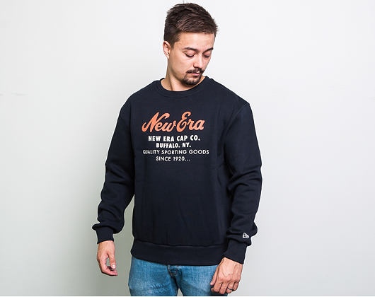 Mikina New Era Branded Cap Co. Crewneck Navy
