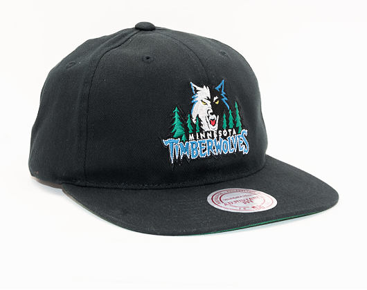 Kšiltovka Mitchell & Ness Minnesota Timberwolves 462 Team Logo Deadstock Throwback