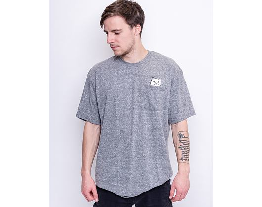 Triko RIP N DIP Lord Nermal Pocket Tee Heather Grey RND0412W