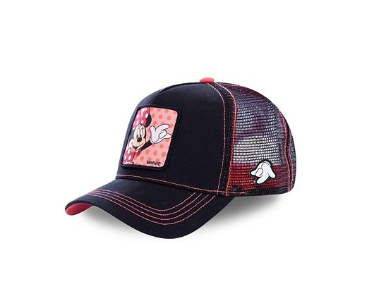 Kšiltovka Capslab Minnie Mouse 2 Trucker Black / Pink