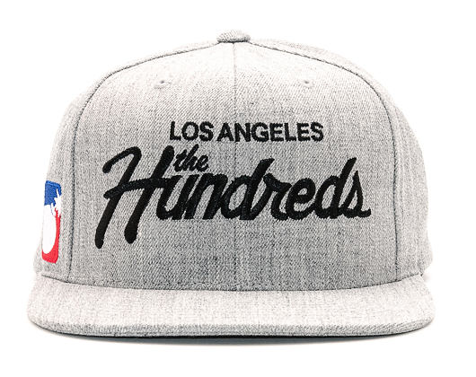 Kšiltovka The Hundreds Forever Team Athletic Heather Snapback