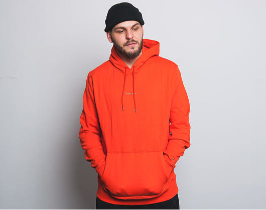 Mikina S Kapucí New Era Premium Classics Fleece Po Hoody Orange